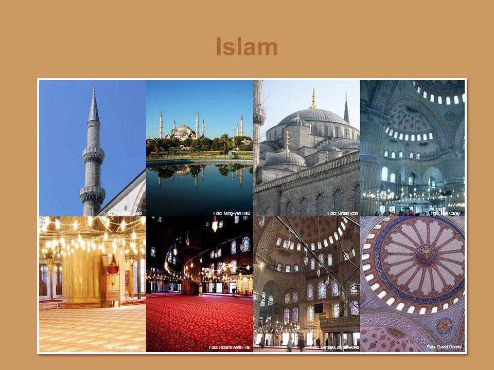 Islam Bilder fra Den blå moské i Istanbul, Tyrkia.