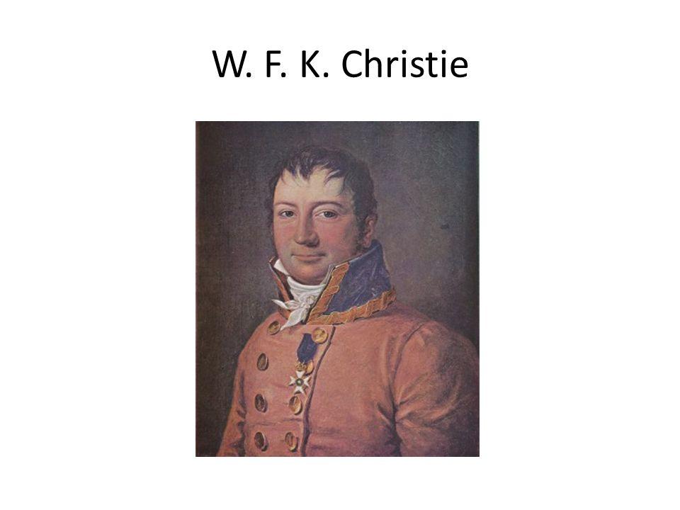 W. F. K. Christie