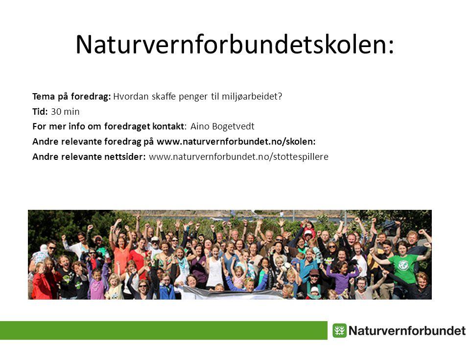 Naturvernforbundetskolen:
