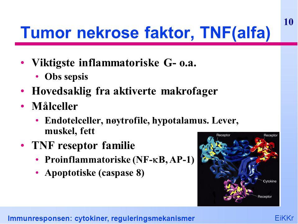 Tumor nekrose faktor, TNF(alfa)