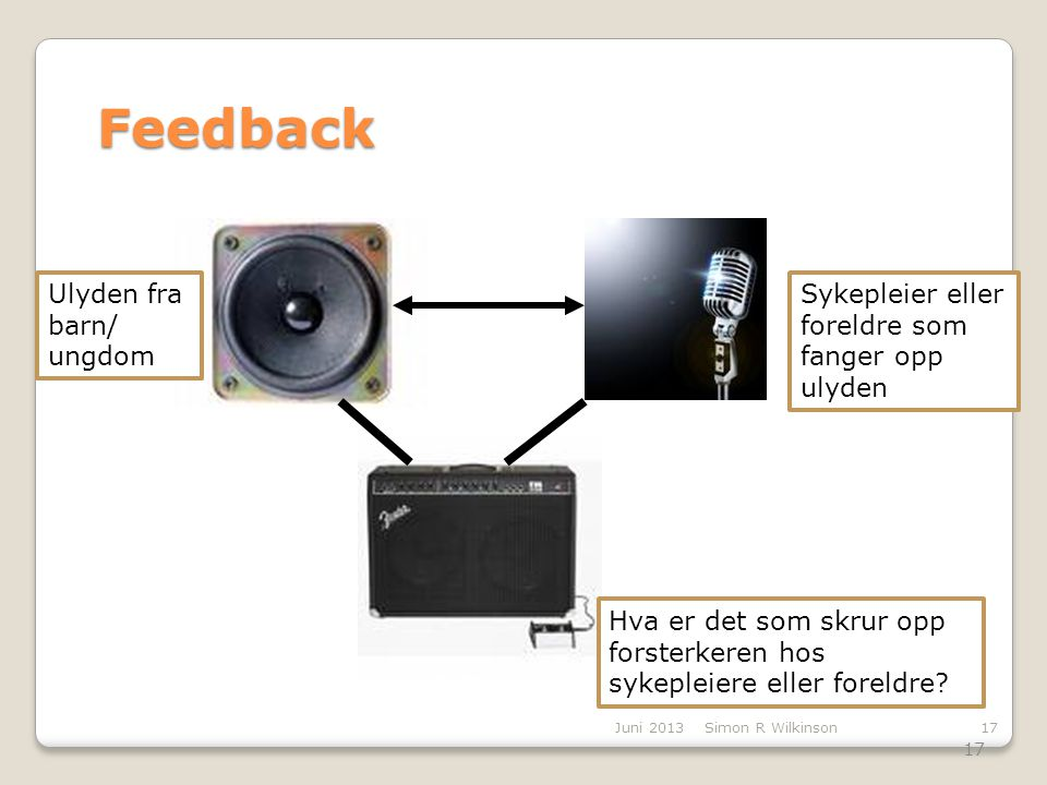 Feedback Amplifier Ulyden fra barn/ ungdom