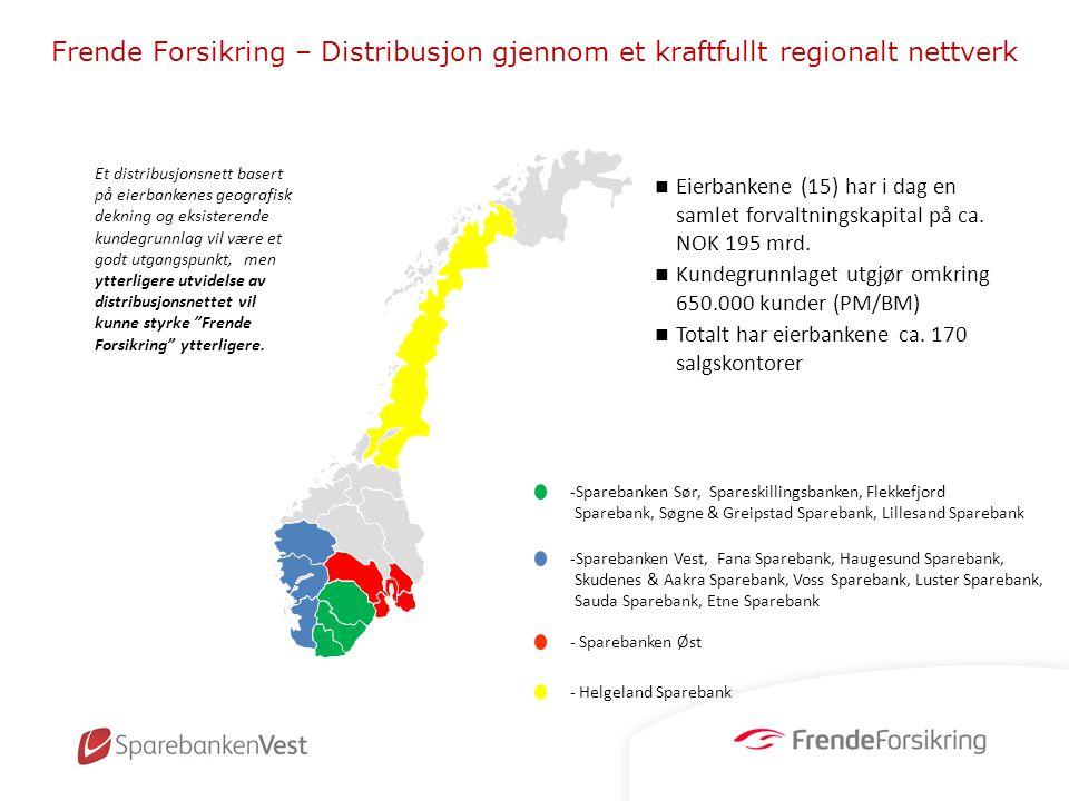 Frende Forsikring – Distribusjon gjennom et kraftfullt regionalt nettverk