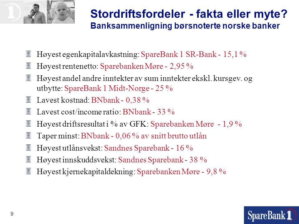Stordriftsfordeler - fakta eller myte