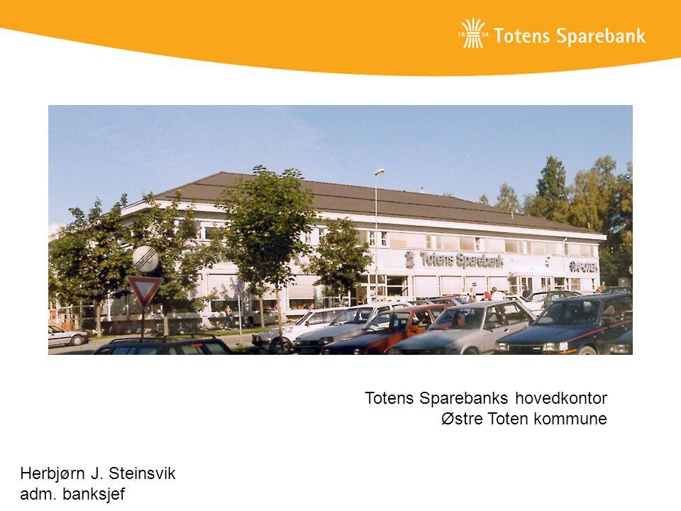 Totens Sparebanks hovedkontor Østre Toten kommune