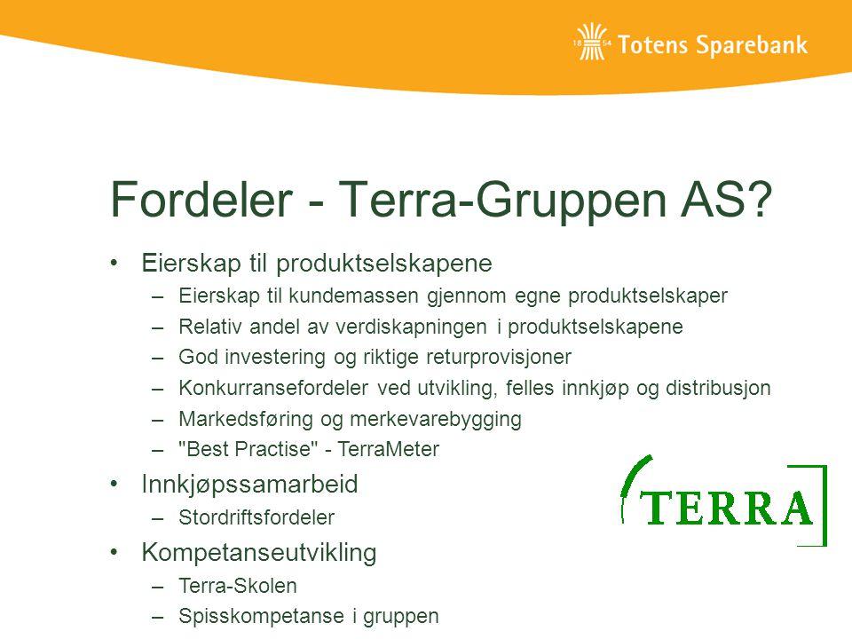 Fordeler - Terra-Gruppen AS