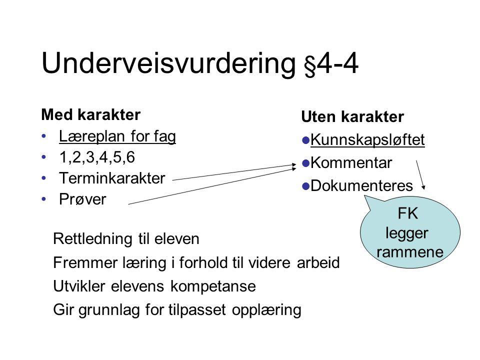 Underveisvurdering §4-4