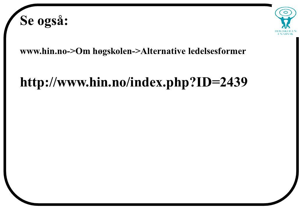 Se også: http://www.hin.no/index.php ID=2439