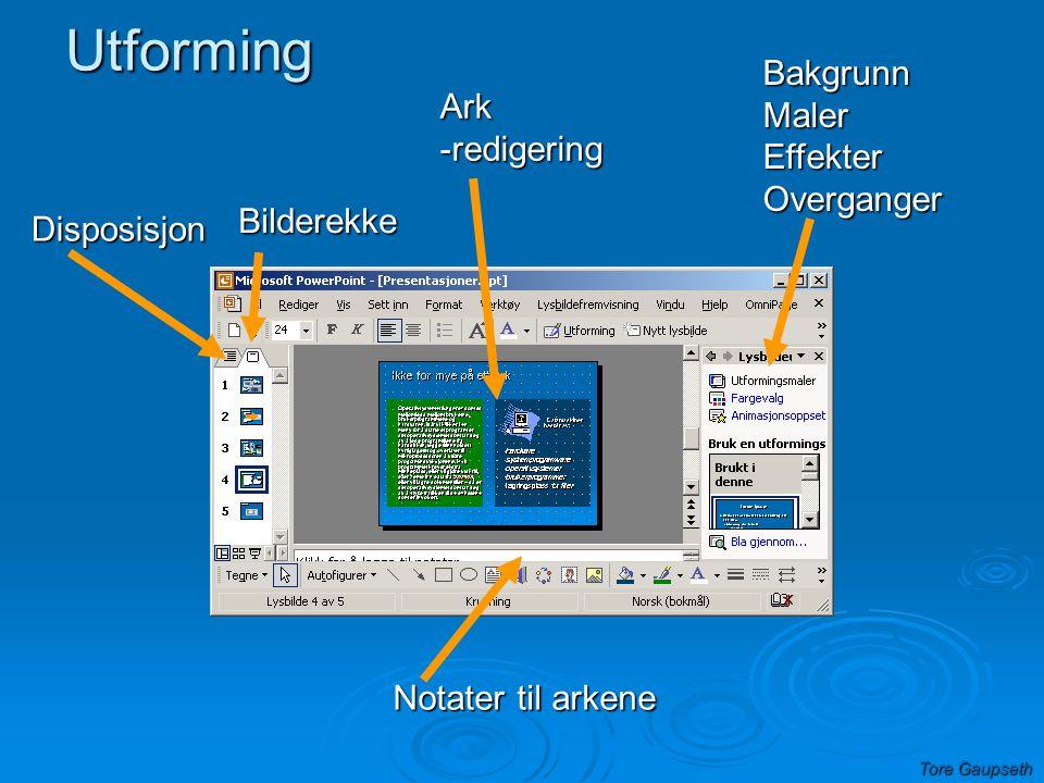 Utforming Bakgrunn Maler Ark Effekter -redigering Overganger