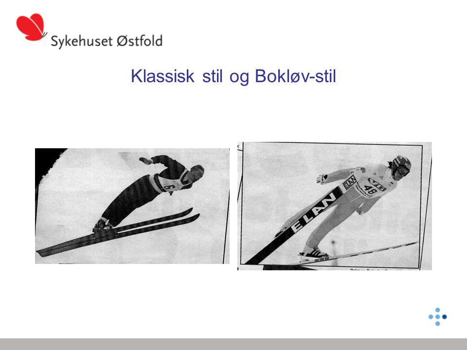 Klassisk stil og Bokløv-stil