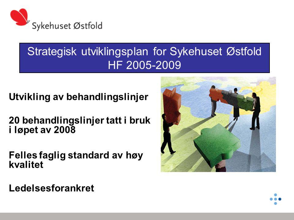 Strategisk utviklingsplan for Sykehuset Østfold HF 2005-2009