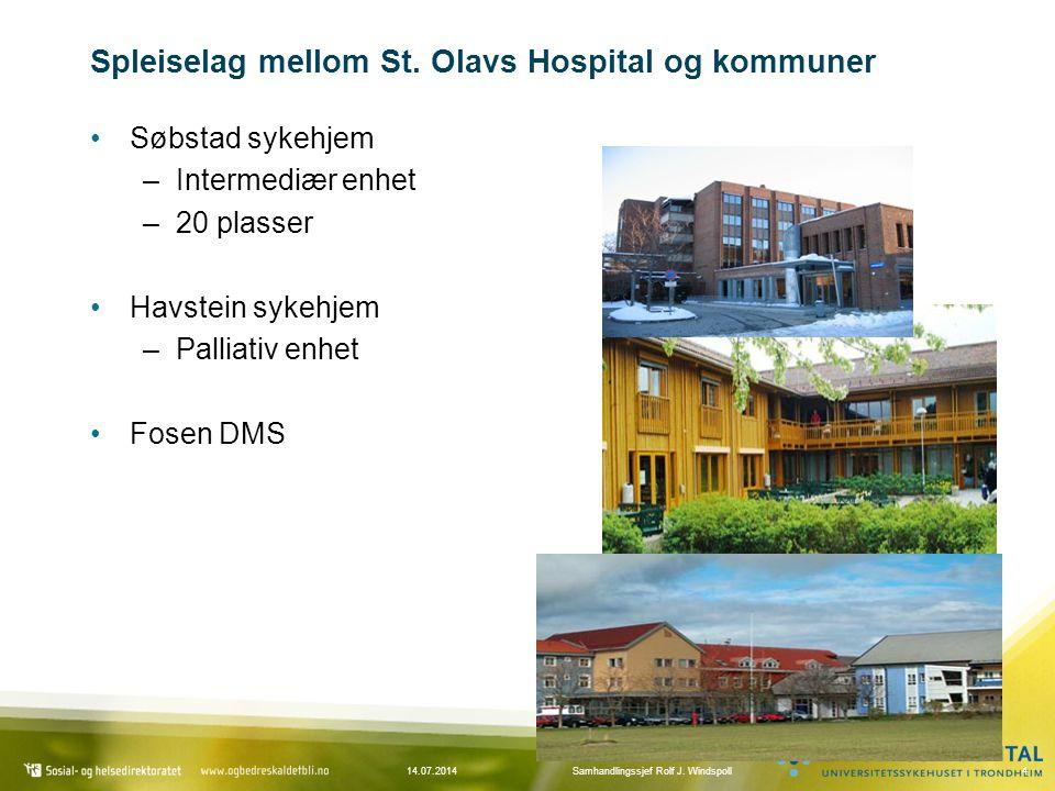 Spleiselag mellom St. Olavs Hospital og kommuner