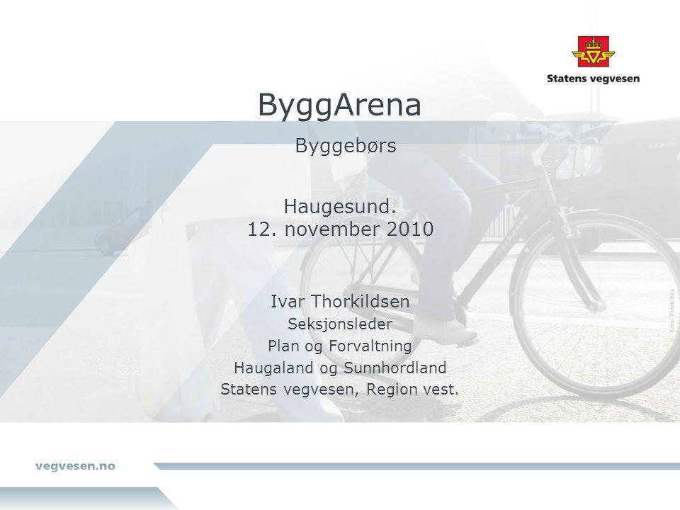ByggArena Byggebørs Haugesund. 12. november 2010