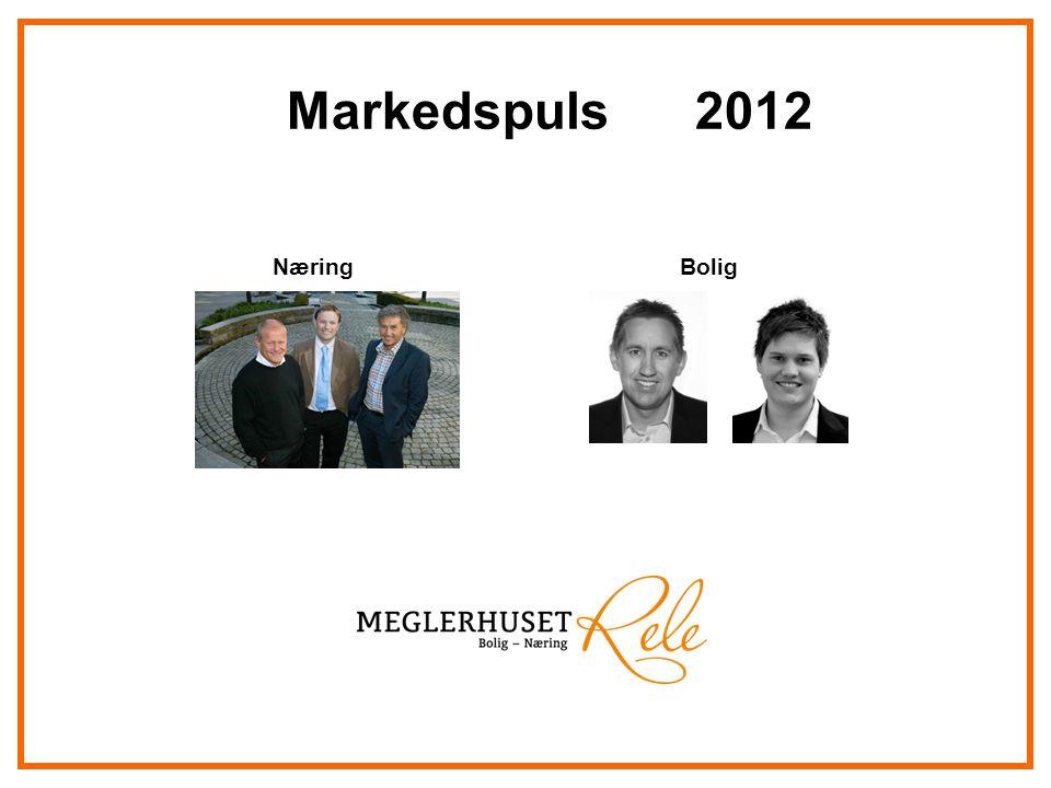 Markedspuls 2012 Næring Bolig