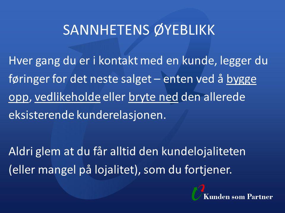 SANNHETENS ØYEBLIKK