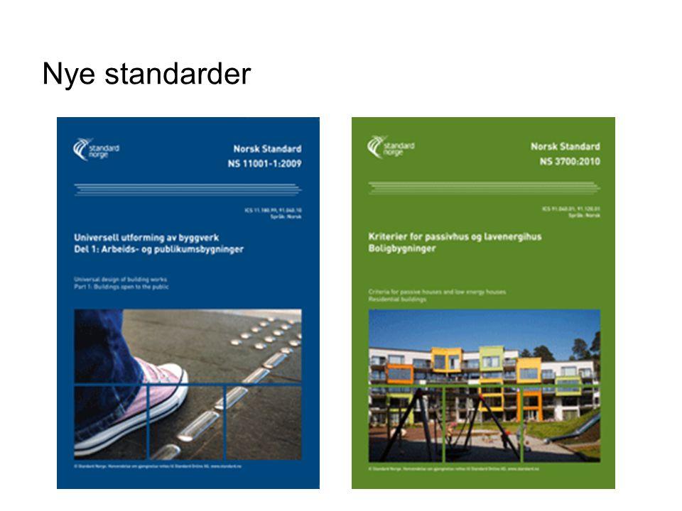 Nye standarder