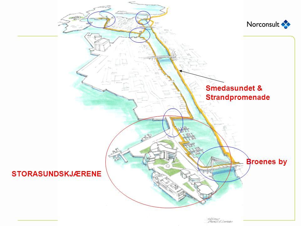 Smedasundet & Strandpromenade Broenes by STORASUNDSKJÆRENE
