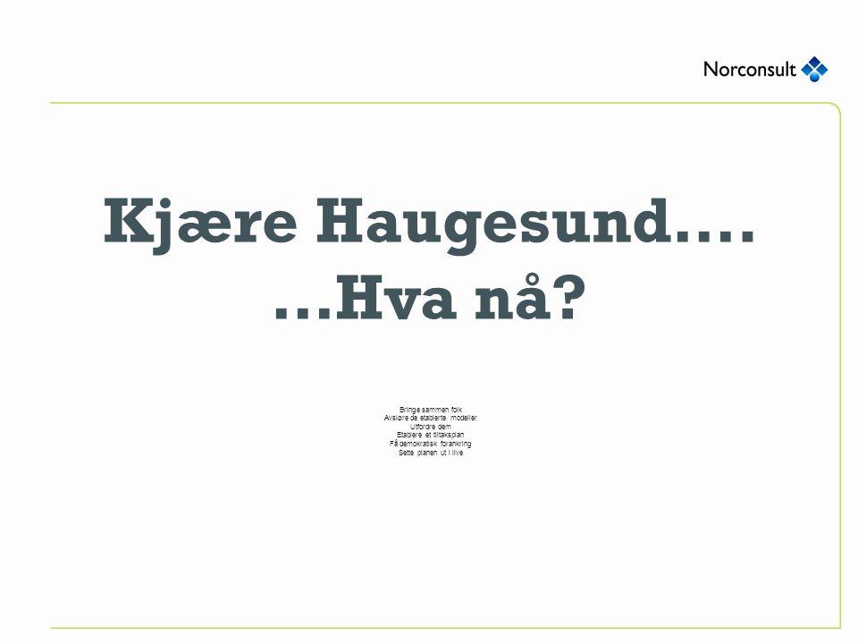Kjære Haugesund…. …Hva nå