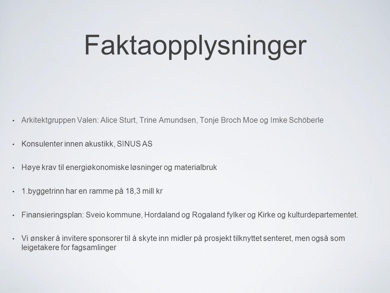 Faktaopplysninger Arkitektgruppen Valen: Alice Sturt, Trine Amundsen, Tonje Broch Moe og Imke Schöberle.