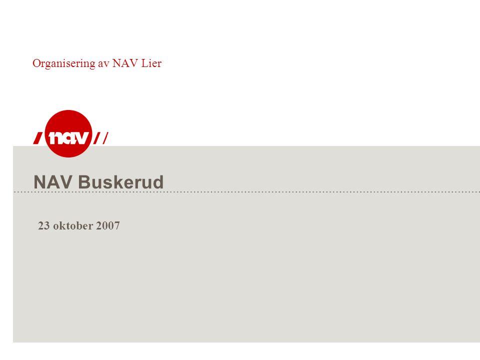 Organisering av NAV Lier
