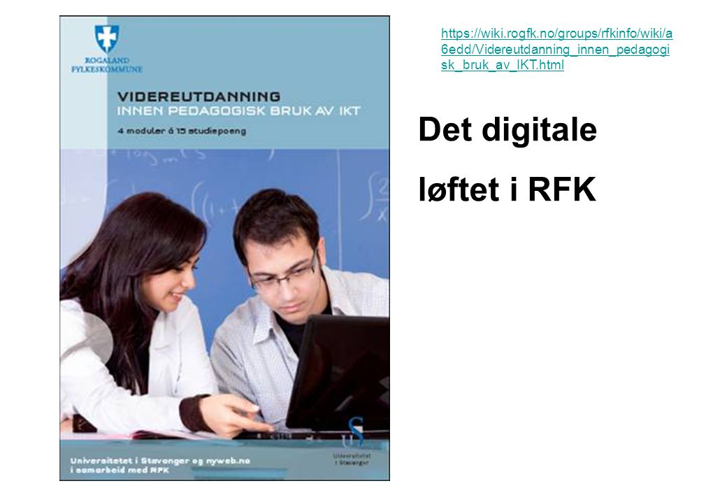 Det digitale løftet i RFK
