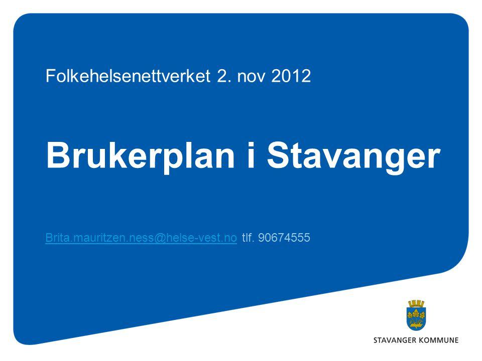 Brukerplan i Stavanger