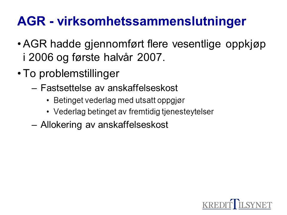AGR - virksomhetssammenslutninger