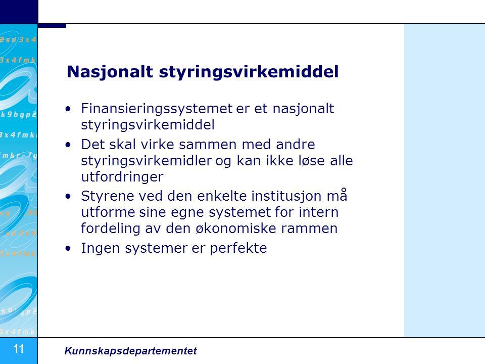 Nasjonalt styringsvirkemiddel