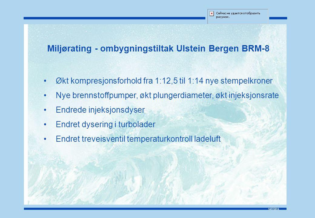 Miljørating - ombygningstiltak Ulstein Bergen BRM-8