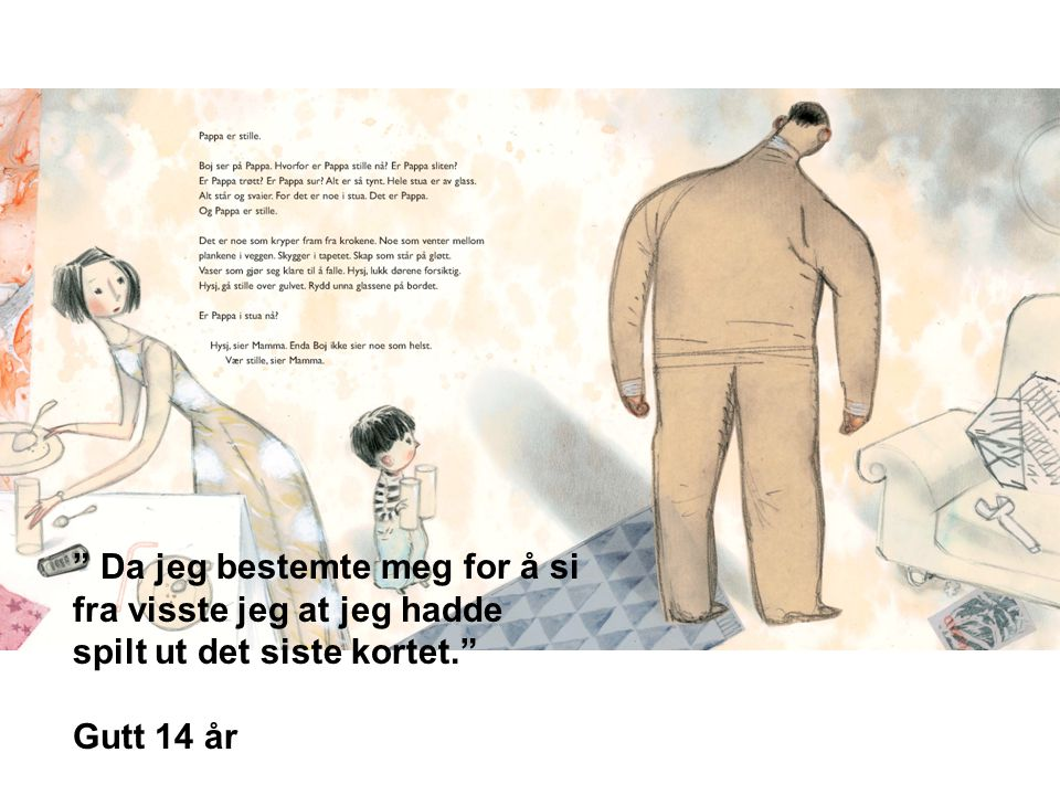 SINNA MANN - OPPSLAG 02 - Pappa i stua med ryggen til