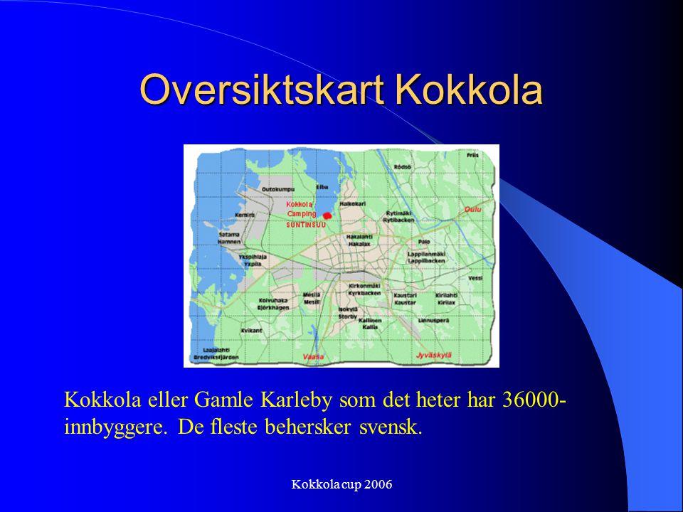 Oversiktskart Kokkola