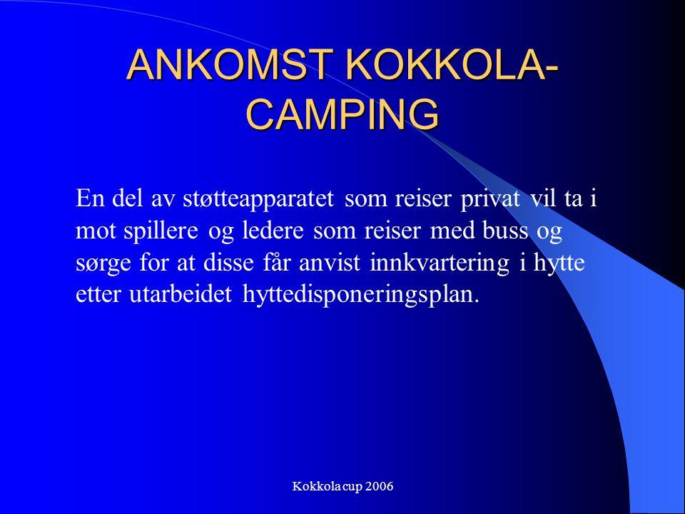 ANKOMST KOKKOLA-CAMPING