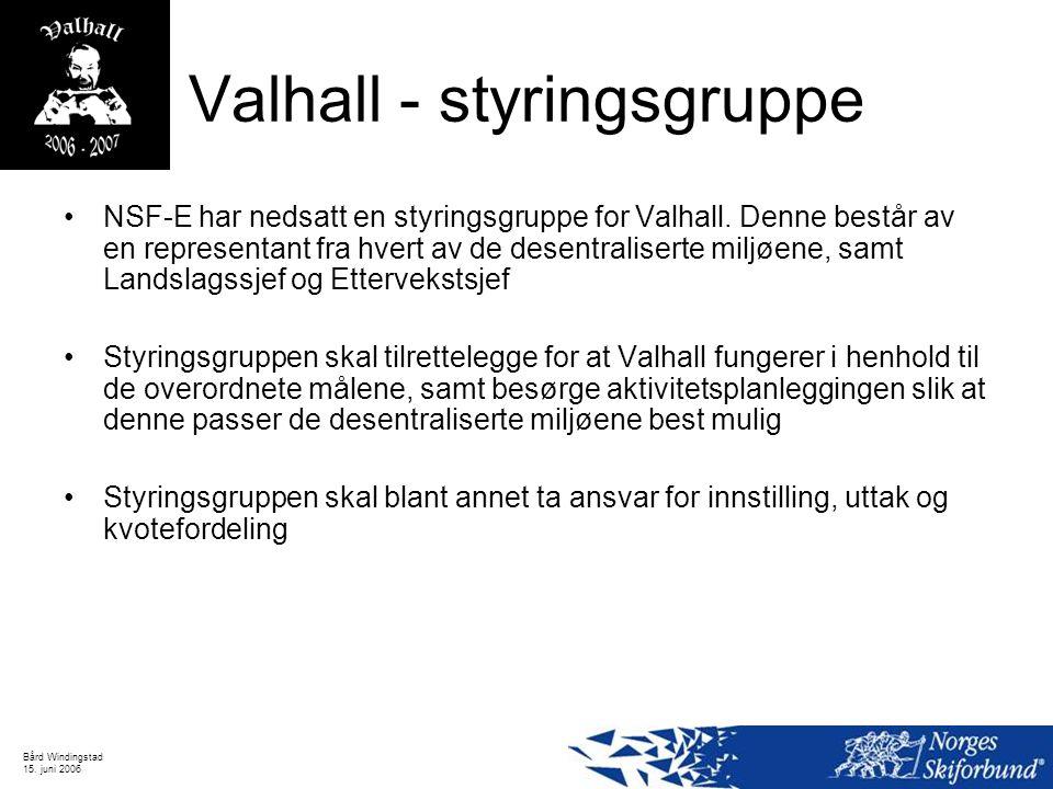Valhall - styringsgruppe
