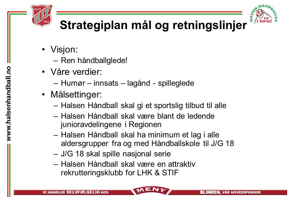 Strategiplan mål og retningslinjer