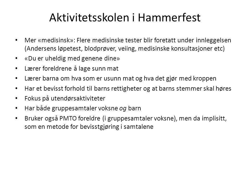 Aktivitetsskolen i Hammerfest