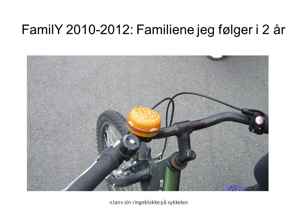 «Jan» sin ringeklokke på sykkelen