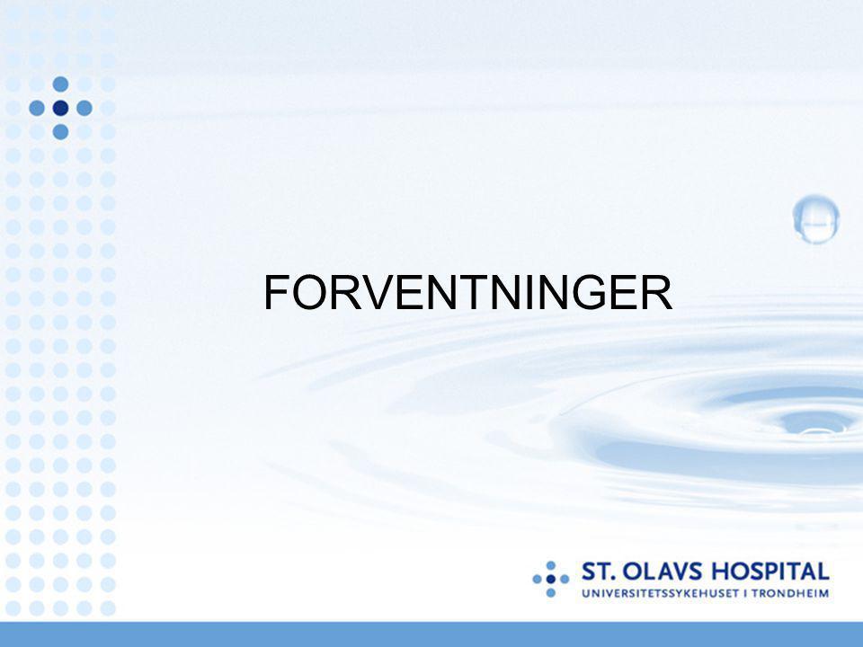 FORVENTNINGER