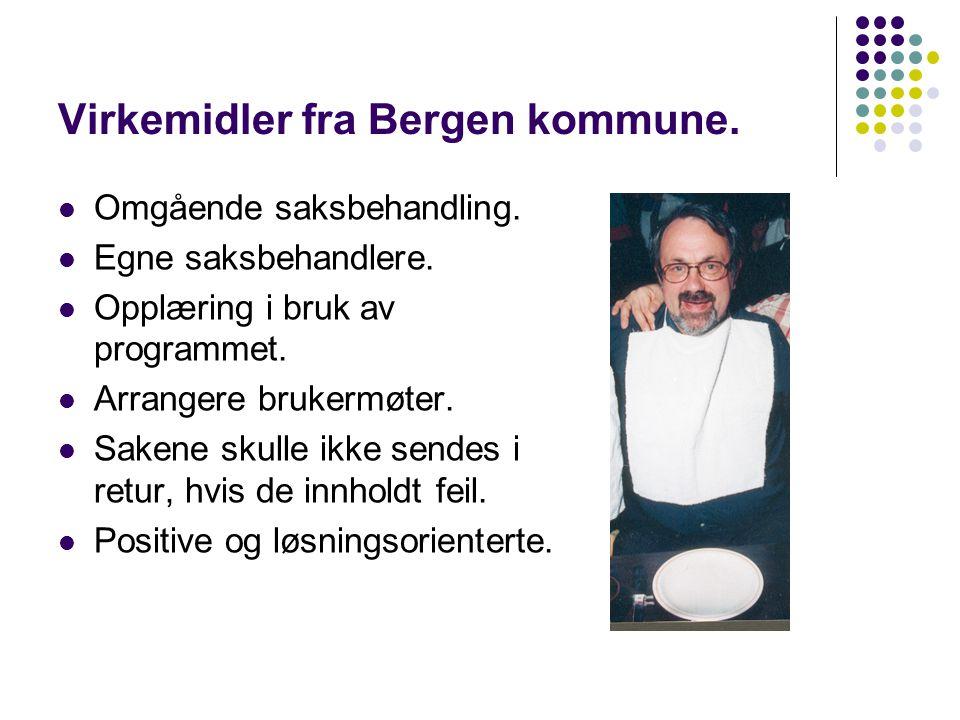 Virkemidler fra Bergen kommune.