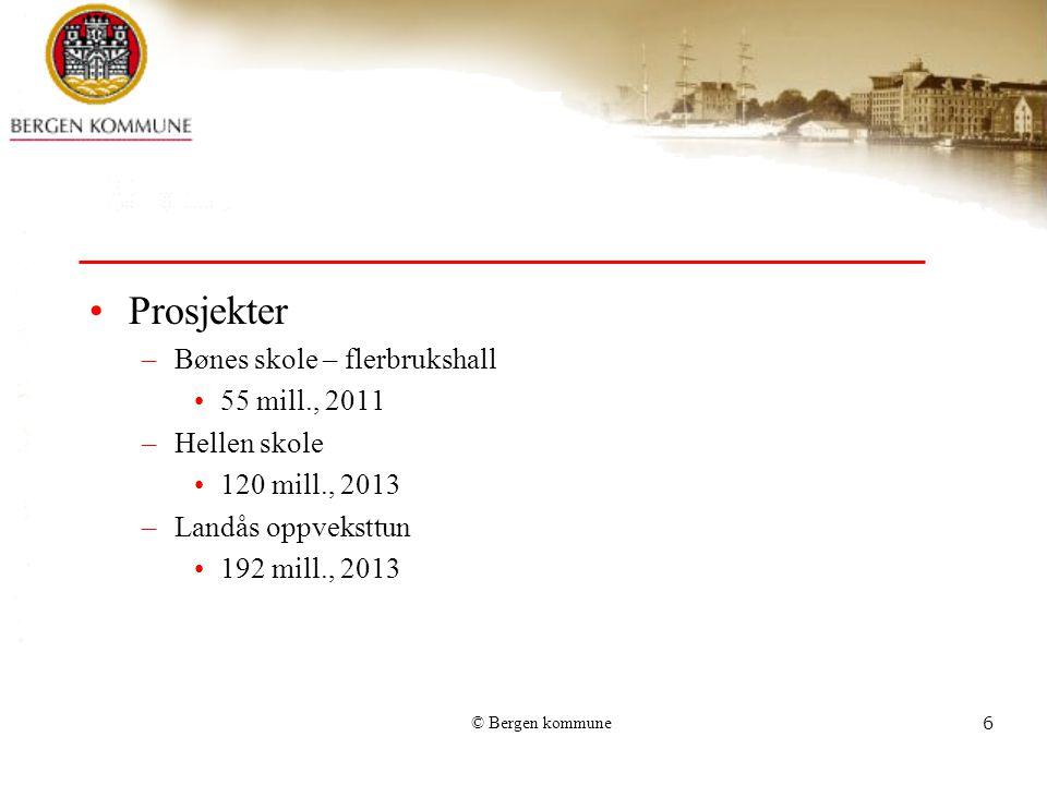Prosjekter Bønes skole – flerbrukshall 55 mill., 2011 Hellen skole