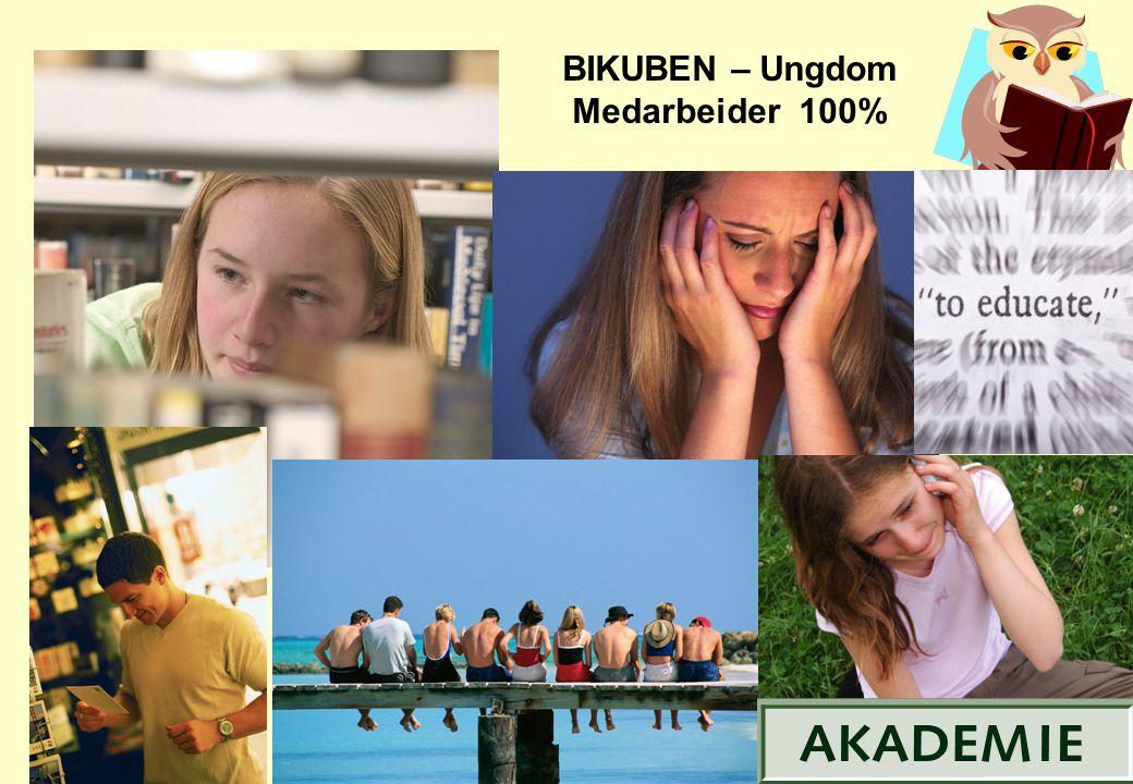 BIKUBEN – Ungdom Medarbeider 100%