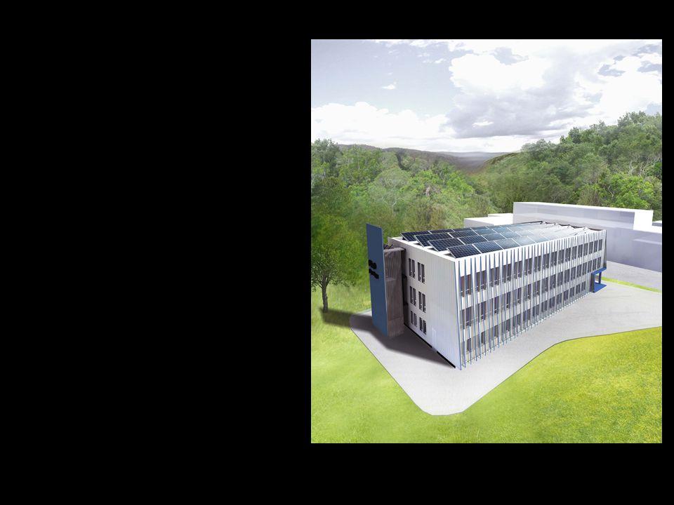 Dette er det nye administrasjonsbygget til Forsvarets logistikkorganisasjon.