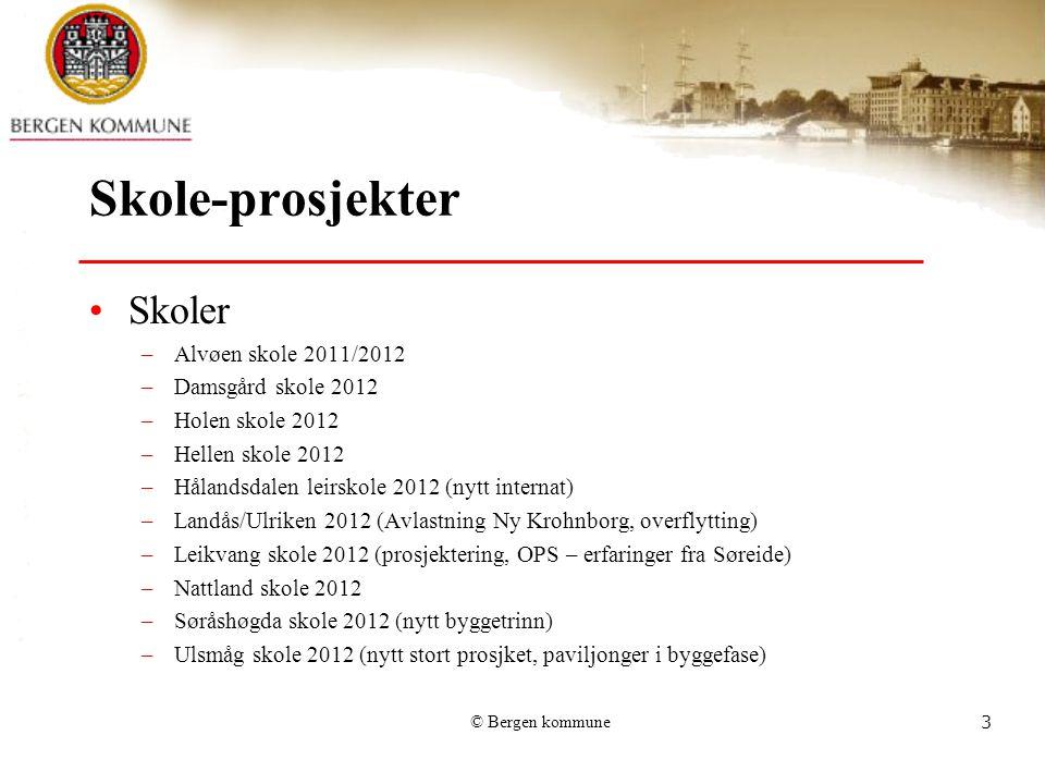 Skole-prosjekter Skoler Alvøen skole 2011/2012 Damsgård skole 2012