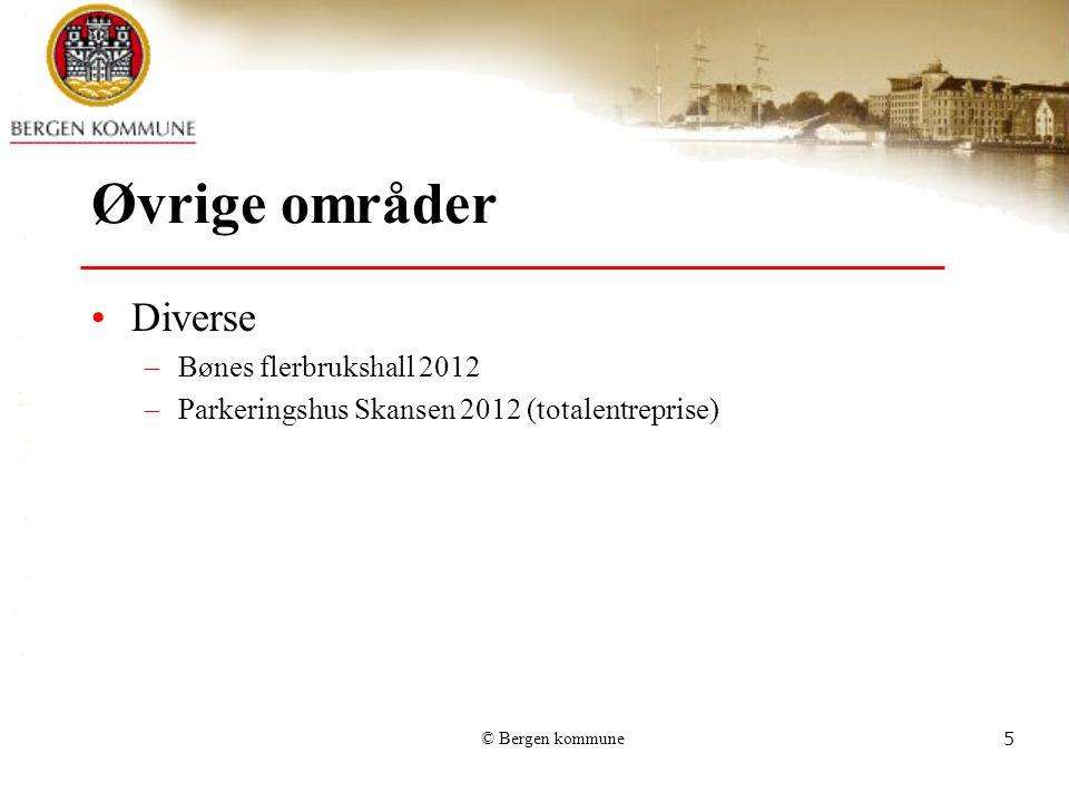 Øvrige områder Diverse Bønes flerbrukshall 2012