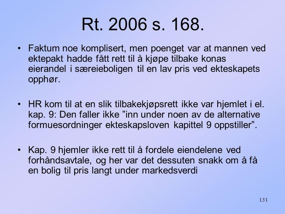 Rt. 2006 s. 168.