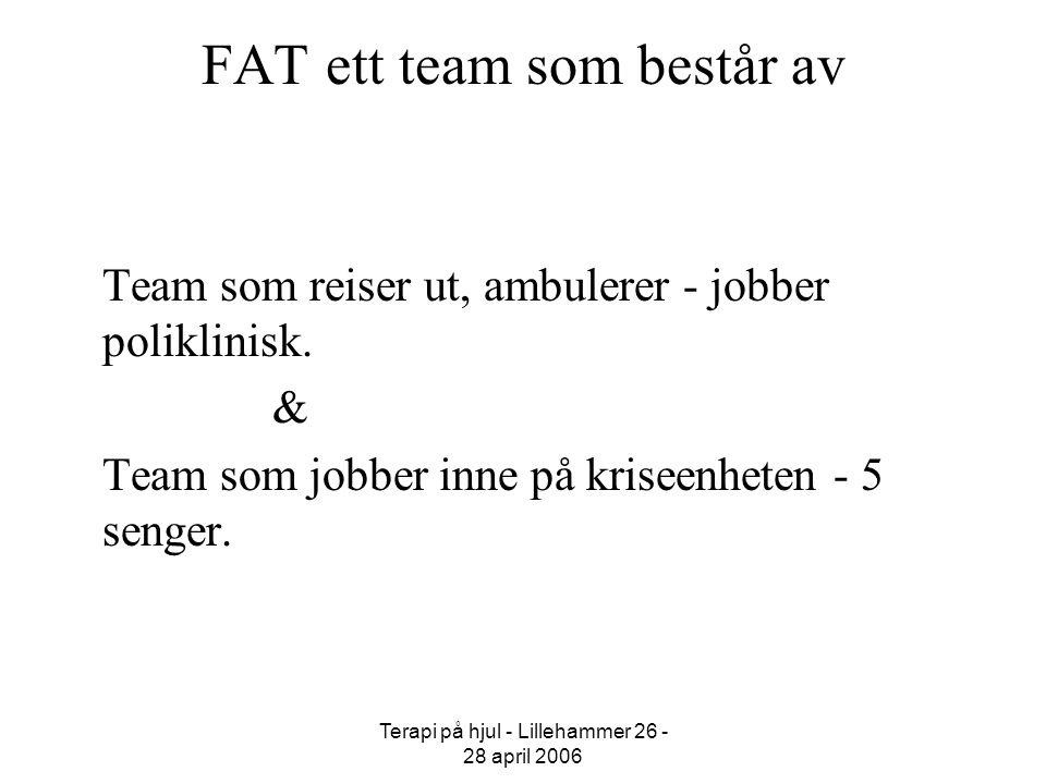 FAT ett team som består av