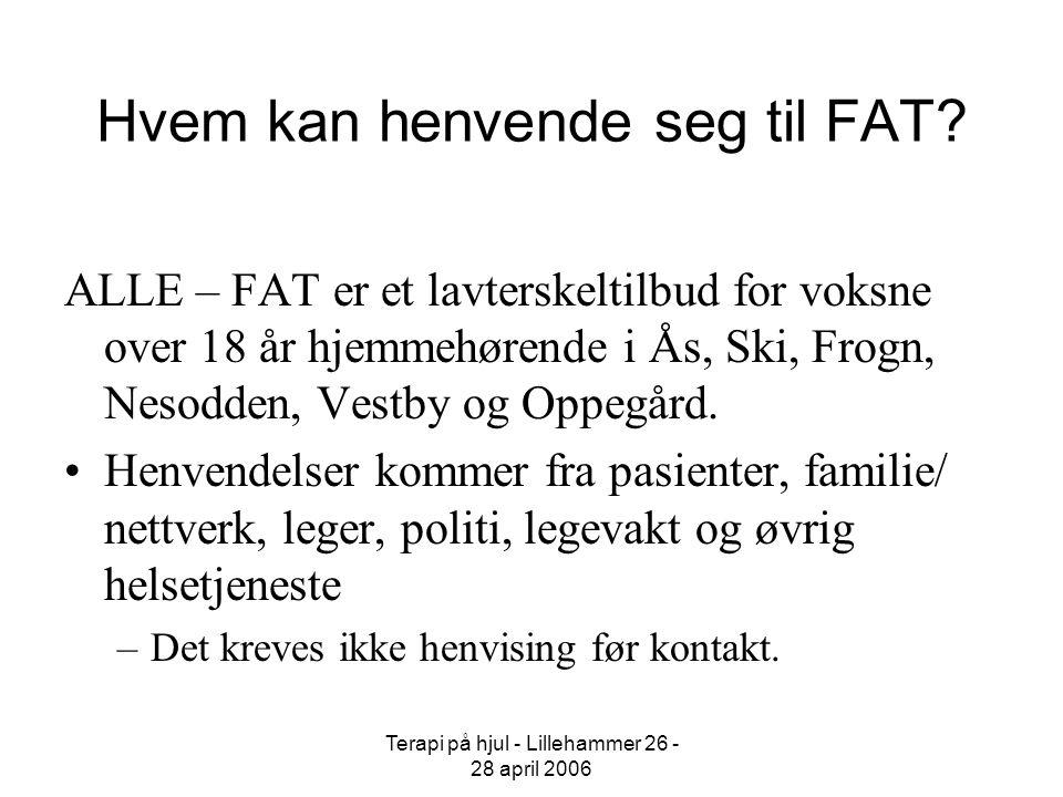 Hvem kan henvende seg til FAT