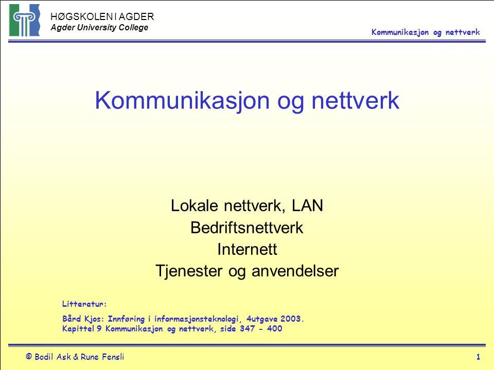 Kommunikasjon og nettverk