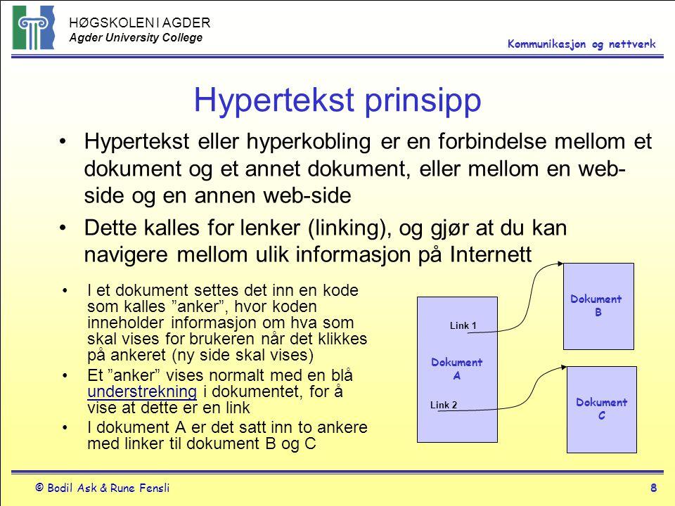 Hypertekst prinsipp