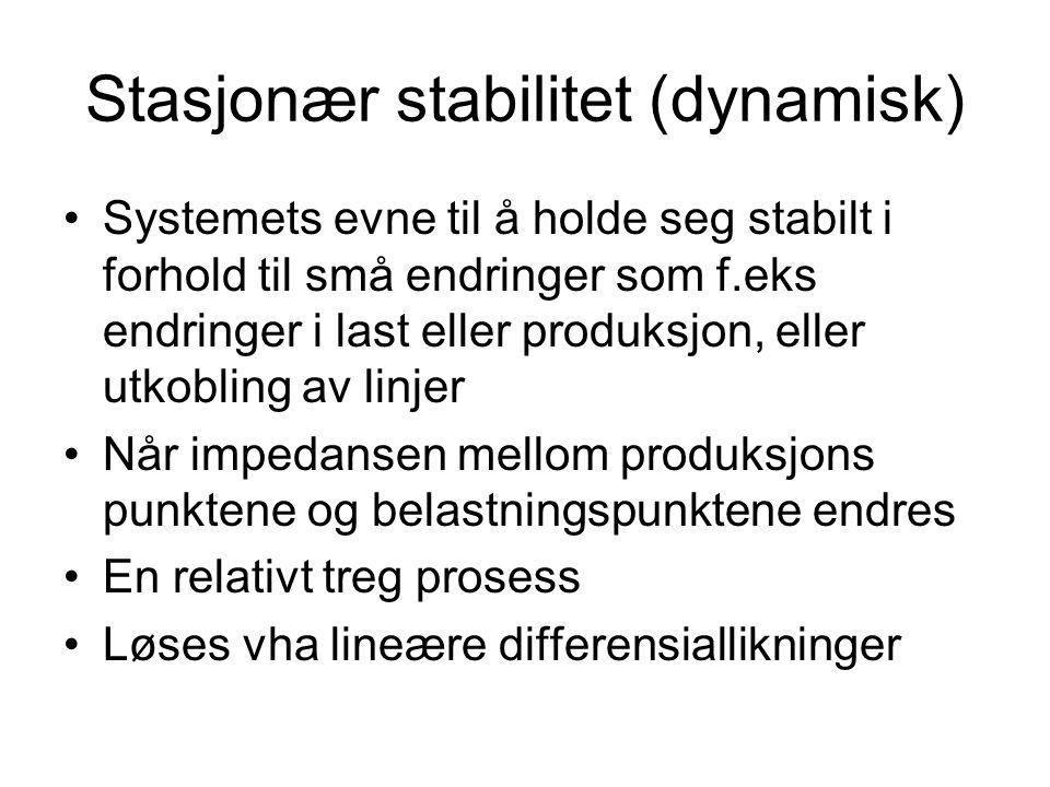 Stasjonær stabilitet (dynamisk)