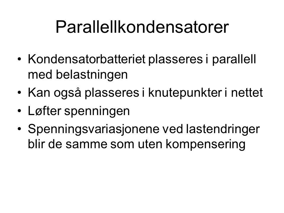 Parallellkondensatorer