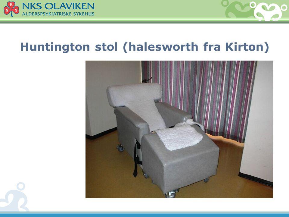 Huntington stol (halesworth fra Kirton)